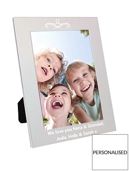 personalised-silver-photo-frame
