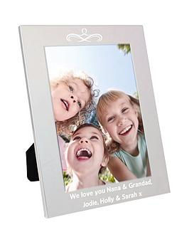 Very Personalised Silver Photo Frame Picture