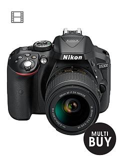 nikon-d5300-242-megapixel-digital-slr-camera-with-18-55mm-lensnbspsave-pound50-with-voucher-code-lxjxd
