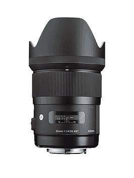 Sigma Sigma 35Mm F1.4 Dg A Series Lens - Canon Fit Picture