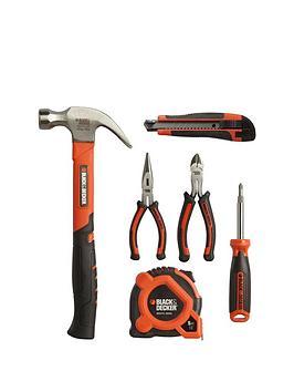 black-decker-bdhto-71631-6-piece-tool-kit