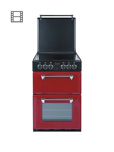 stoves-richmond-550e-55cmnbspwide-double-oven-electric-mini-range-cooker-with-optional-connection-jalepeno