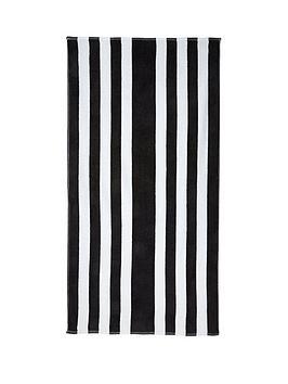 downland-monochrome-beach-towel