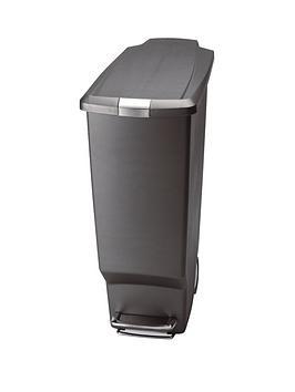 simplehuman-40-litre-slim-step-bin