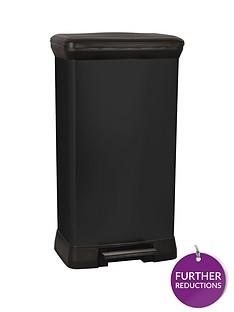 curver-50-litre-deco-bin-black