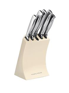 morphy-richards-knife-block-5-piece-cream