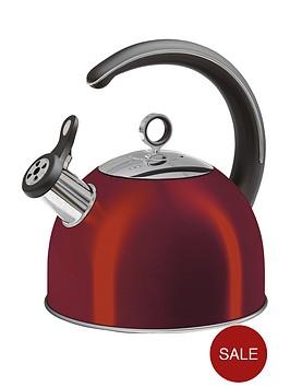 morphy-richards-whistling-kettle-25-litre-red