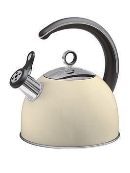 morphy-richards-whistling-kettle-25-litre-cream