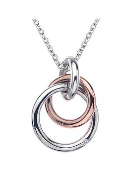 Hot Diamonds Hot Diamonds Eternity Sterling Silver And 18 Carat Gold  ... Picture