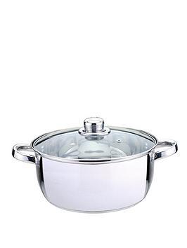 sabichi-essential-24-cm-casserole-with-glass-lid