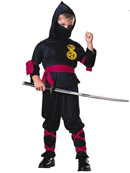 Very  Boys Black Ninja - Child Costume