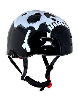 Sport Direct Sport Direct Skull And Cross Bones Bmx Helmet - 55-58 Cms Picture