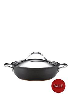 anolon-nouvelle-28-litre-copper-covered-casserole
