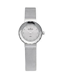 skagen-leonora-silver-tone-stainless-steel-ladies-watch