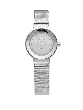 skagen-leonora-silver-tone-stainless-steel-ladies-watch