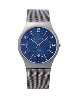 skagen-grenen-blue-dial-mesh-mens-watch