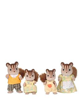 sylvanian-families-walnut-squirrel-family