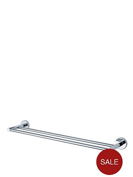 aqualux-haceka-kosmos-84-cm-double-towel-rail