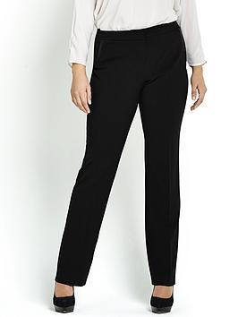 so-fabulous-straight-leg-pu-pocket-trim-trousers
