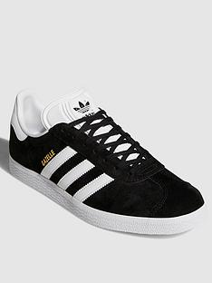 dab1abea41083b adidas Originals Gazelle OG Trainers - Black White