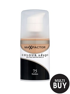 max-factor-colour-adapt-foundation-amp-free-max-factor-cosmetic-bag