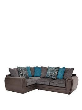 Very Gatsby Left Hand Double Arm Corner Group Sofa