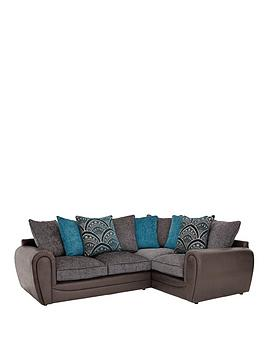 Very Gatsby Right Hand Double Arm Corner Group Sofa Picture