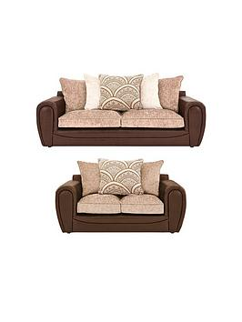 Very Gatsby 3 Seater + 2 Seater Sofa Set (Buy And Save!) Picture