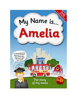Very My Name Is - Personalised Book Picture