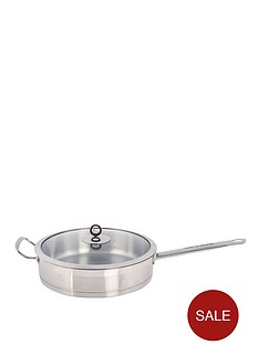 morphy-richards-saute-pan-stainless-steel