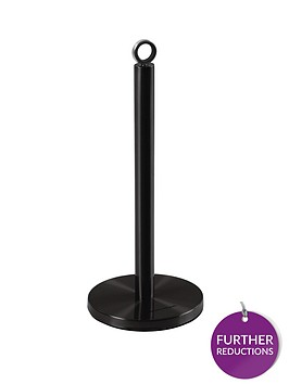 morphy-richards-kitchen-towel-pole-black