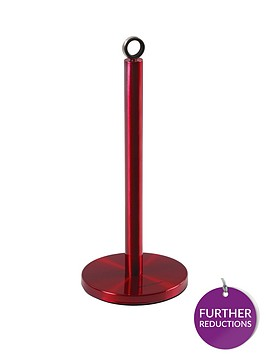 morphy-richards-kitchen-towel-pole-red