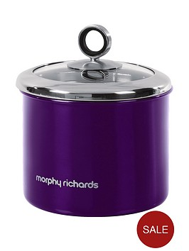 morphy-richards-small-storage-canister-purple