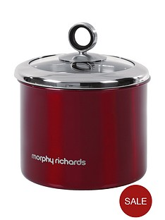 morphy-richards-red-small-storage-canister
