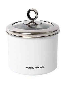 morphy-richards-small-storage-canister-white