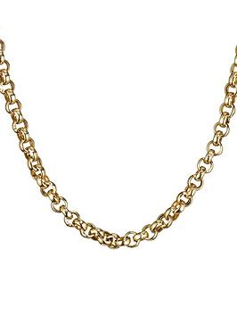 Love GOLD Love Gold 9 Carat Gold 18 Inch Belcher Chain Picture