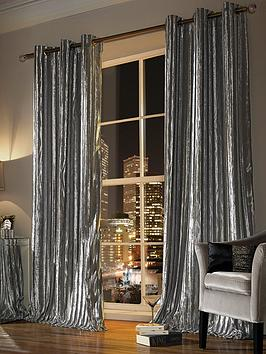 Kylie Minogue Kylie Minogue Iliana Lined Eyelet Curtains Picture