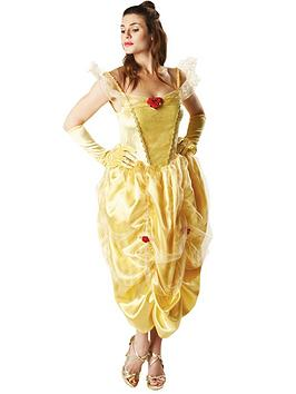 Disney Princess Disney Princess Disney Ladies Belle - Adult Costume Picture