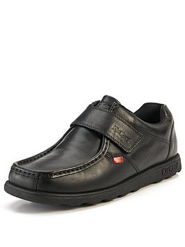 445f7321 Kickers Fragma Mens Strap Shoes | littlewoods.com
