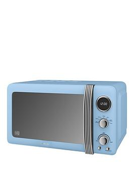 Swan Swan Sm22030Bln Retro 20-Litre Digital Microwave - Blue Picture