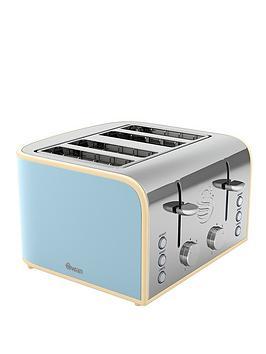 swan-st17010bln-retro-4-slice-toaster-blue