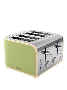 swan-st17010gn-retro-4-slice-toaster-green
