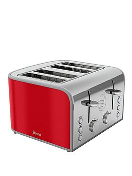 swan-st17010rn-retro-4-slice-toaster-red