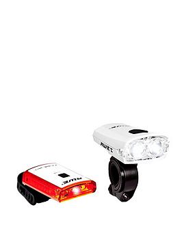 Awe   X-Fire 360 Rechargeable Led Front And Rear Light Set