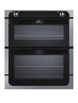 new-world-nw701do-70cm-built-under-fanned-electric-double-oven-stainless-steel