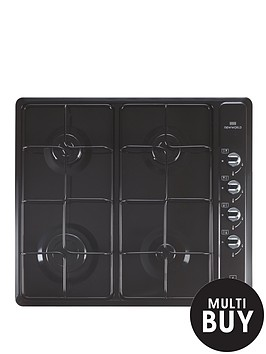 new-world-nwghu601-60cm-built-in-gas-enamel-hob-black