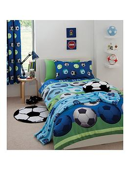 Catherine Lansfield Catherine Lansfield Football Duvet Cover Set Picture