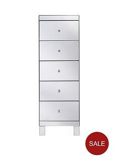 parisian-ready-assembled-mirrored-tall-5-drawer-chest