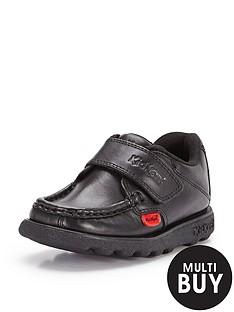 kickers-younger-boysnbspfragma-school-shoes-black