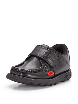 Kickers Kickers Younger Fragma School Shoes - Black Picture